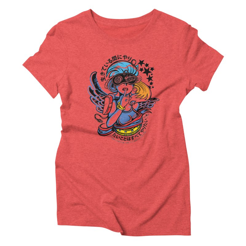 Sonic Hair 2013 Women's Triblend T-Shirt by voxie's Artist Shop