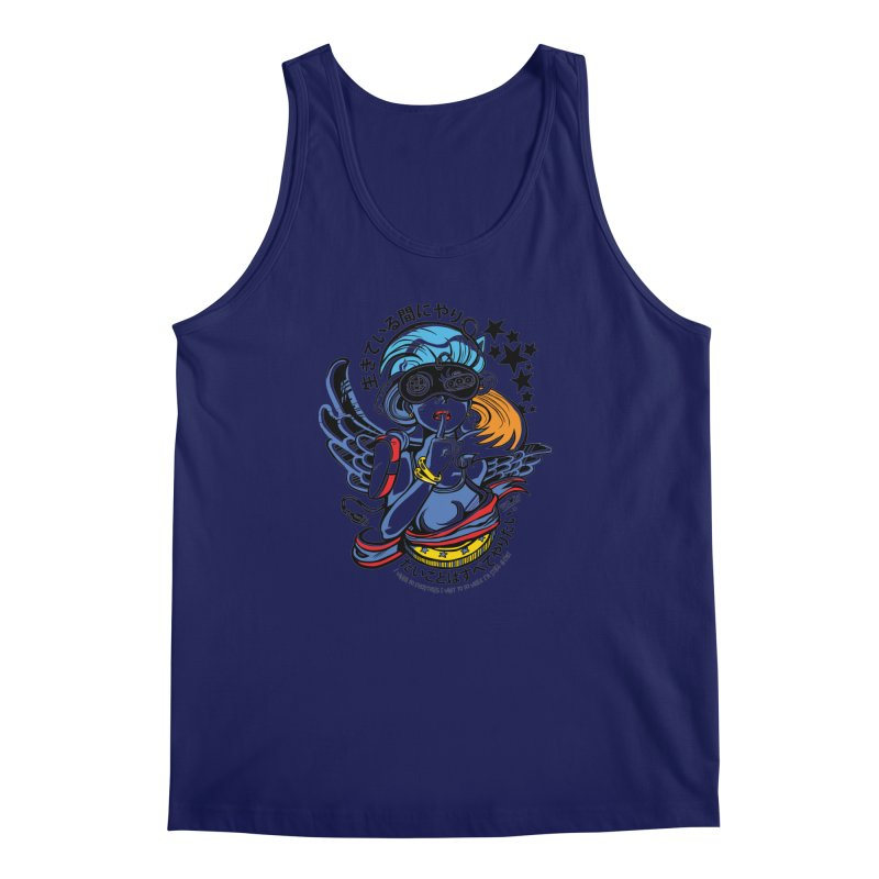 Sonic Hair 2013 Men's Regular Tank by voxie's Artist Shop