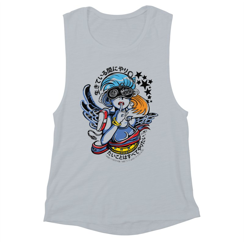 Sonic Hair 2013 Women's Muscle Tank by voxie's Artist Shop