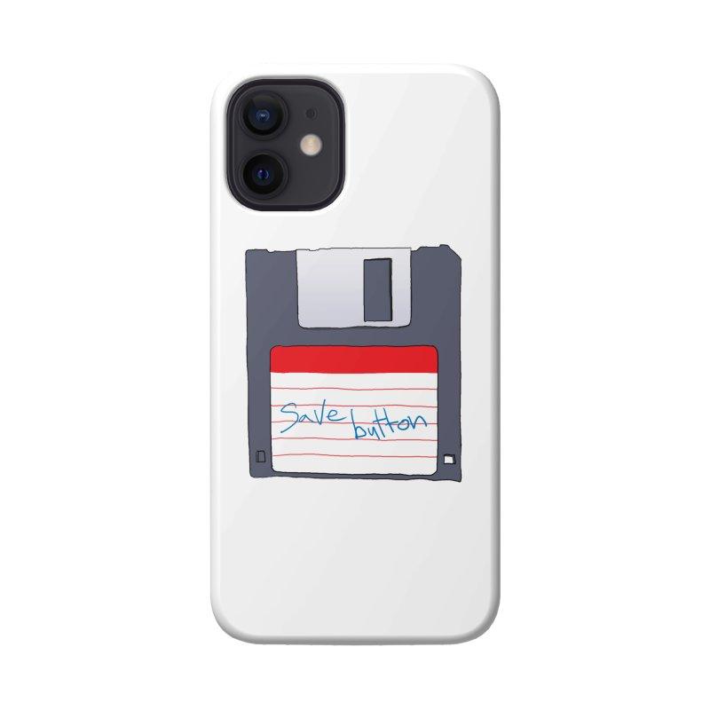 Save Button Accessories Phone Case by V. P. Rigel's Intergalactic Corner!