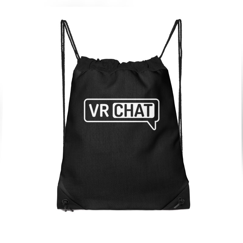 Accessories Accessories Drawstring Bag Bag by VRChat Merchandise