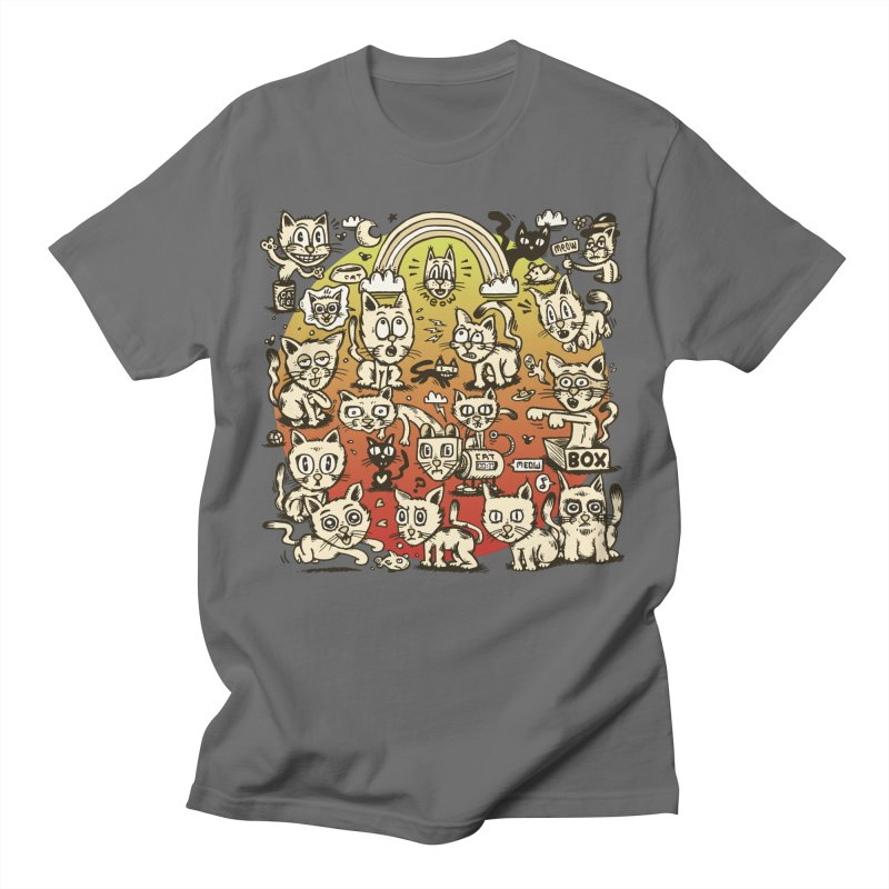 Cats of the World Men's T-Shirt by vtavast's Artist Shop