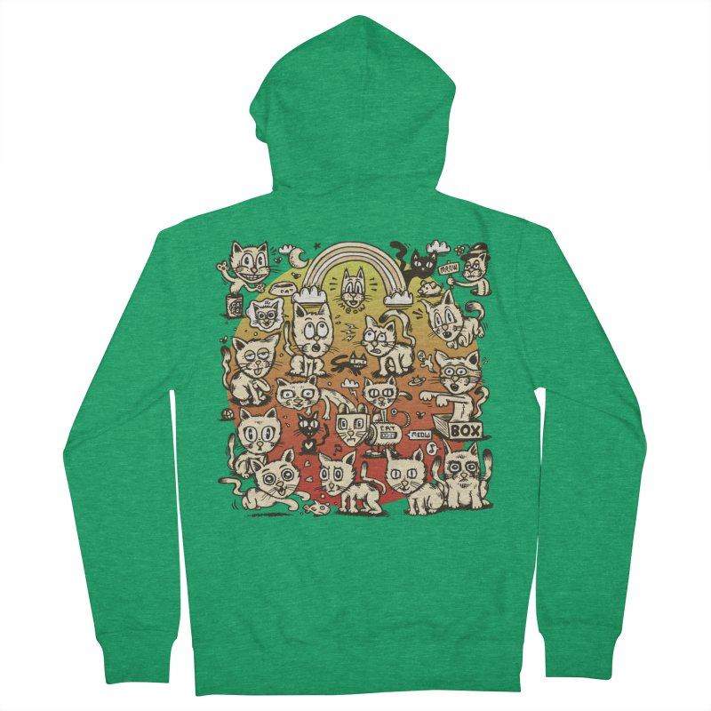 Cats of the World Women's Zip-Up Hoody by vtavast's Artist Shop