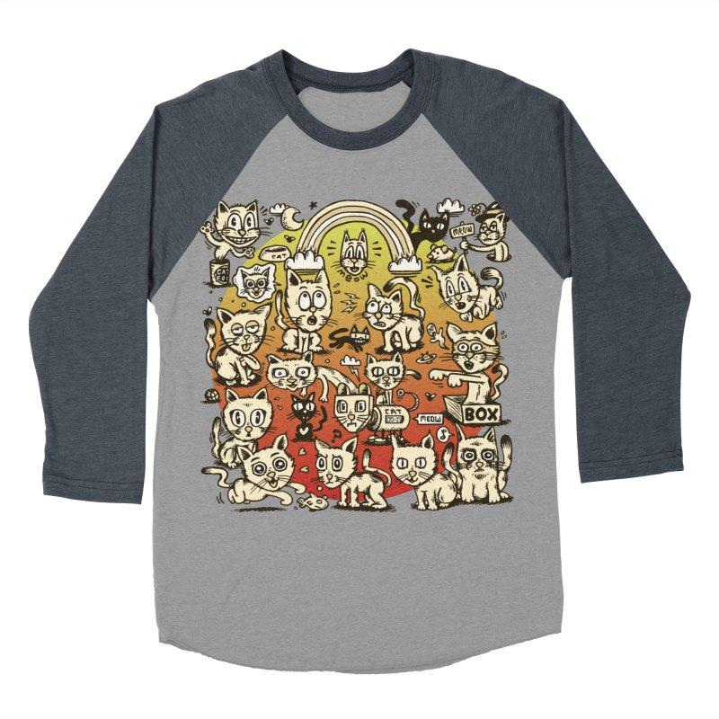 Cats of the World Women's Longsleeve T-Shirt by vtavast's Artist Shop