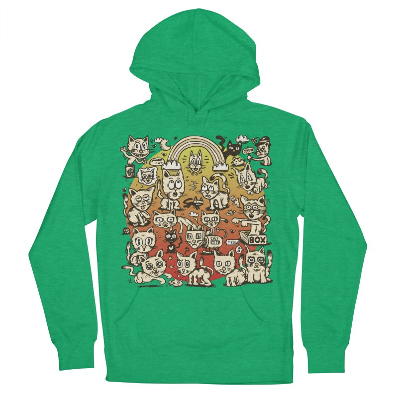 Cats of the World Women's Pullover Hoody by vtavast's Artist Shop