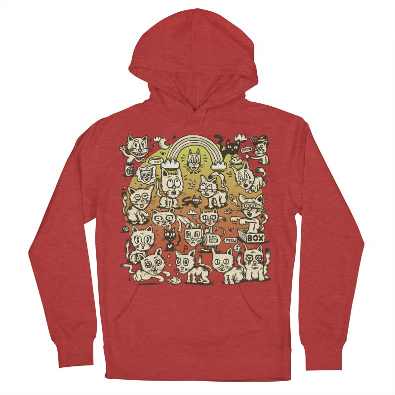 Cats of the World Women's French Terry Pullover Hoody by vtavast's Artist Shop
