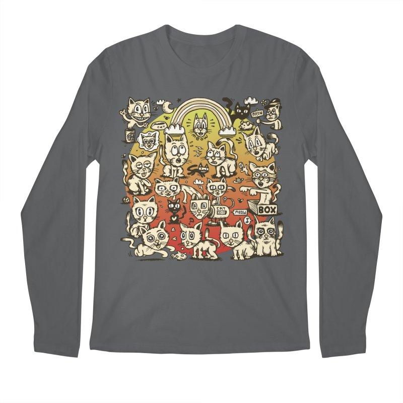 Cats of the World Men's Longsleeve T-Shirt by vtavast's Artist Shop