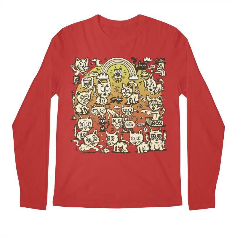 Cats of the World Men's Regular Longsleeve T-Shirt by vtavast's Artist Shop