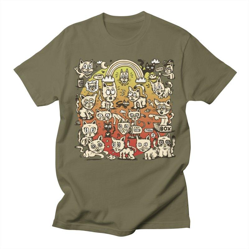 Cats of the World Women's Regular Unisex T-Shirt by vtavast's Artist Shop