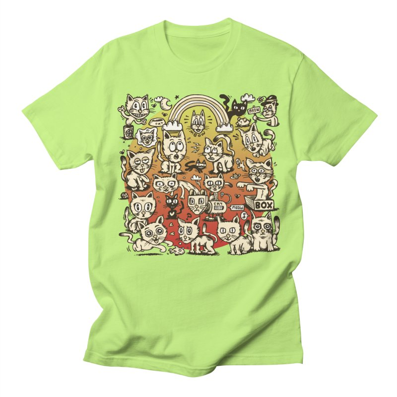 Cats of the World Women's Unisex T-Shirt by vtavast's Artist Shop