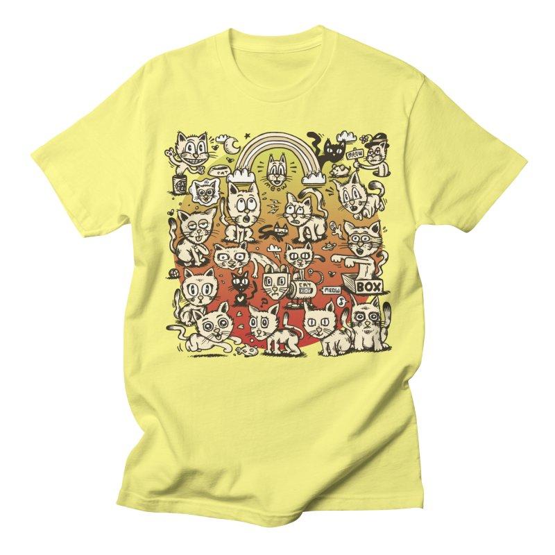 Cats of the World Women's Unisex T-Shirt by vtavast's Artist Shop