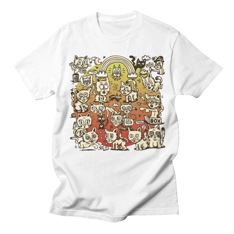 Cats of the World Men's Regular T-Shirt by vtavast's Artist Shop