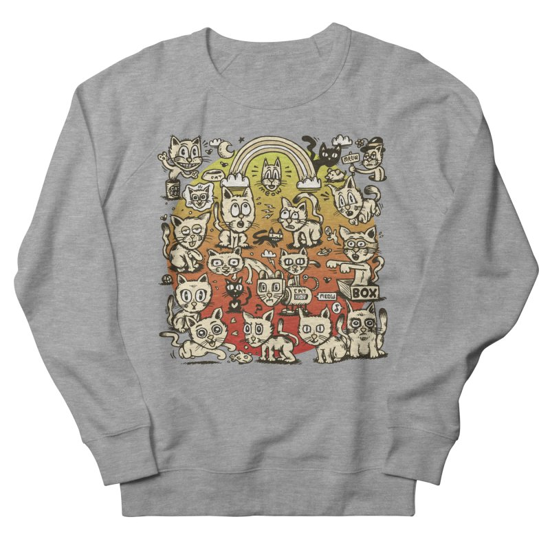 Cats of the World Women's French Terry Sweatshirt by vtavast's Artist Shop