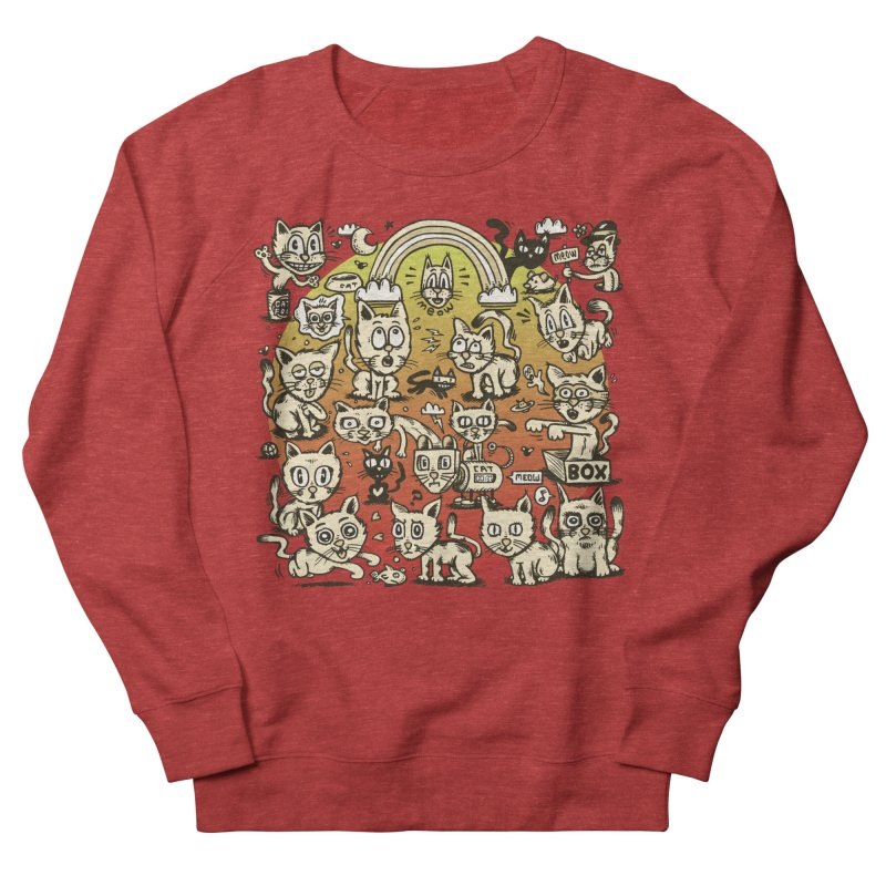 Cats of the World Women's Sweatshirt by vtavast's Artist Shop