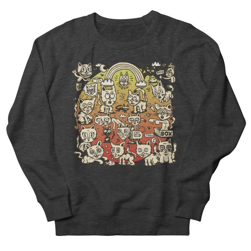 Cats of the World Men's Sweatshirt by vtavast's Artist Shop
