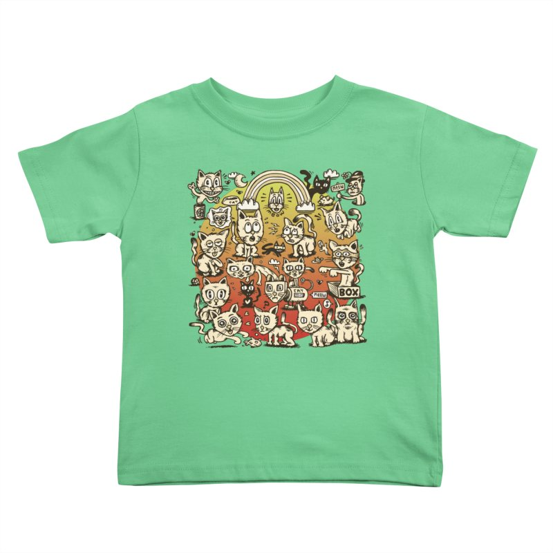Cats of the World Kids Toddler T-Shirt by vtavast's Artist Shop