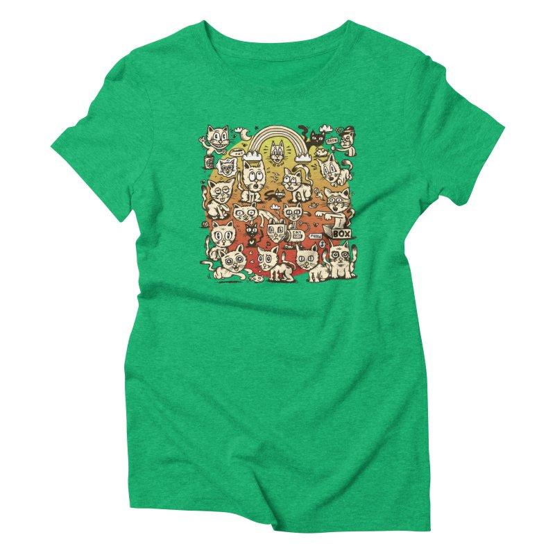 Cats of the World Women's T-Shirt by vtavast's Artist Shop