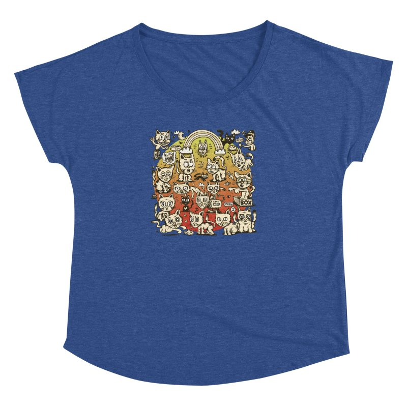 Cats of the World Women's Dolman by vtavast's Artist Shop