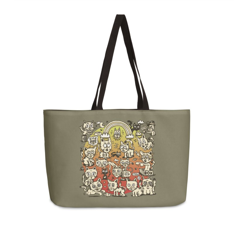 Cats of the World Accessories Bag by vtavast's Artist Shop