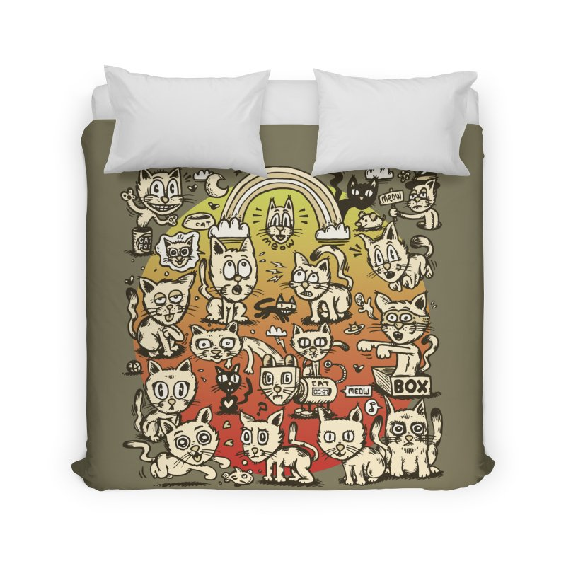 Cats of the World Home Duvet by vtavast's Artist Shop