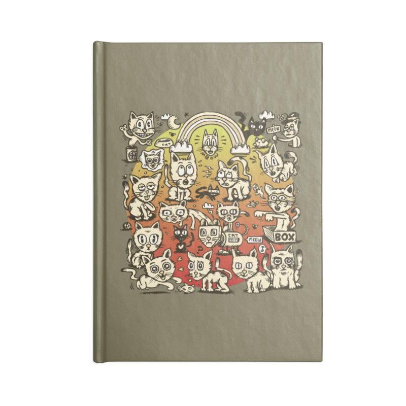 Cats of the World Accessories Notebook by vtavast's Artist Shop