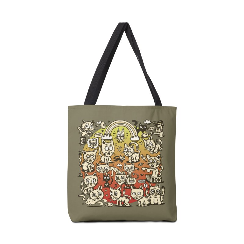Cats of the World Accessories Tote Bag Bag by vtavast's Artist Shop