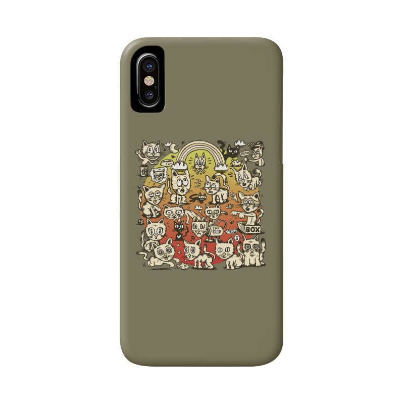 Cats of the World Accessories Phone Case by vtavast's Artist Shop