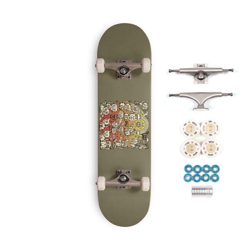 Cats of the World Accessories Complete - Premium Skateboard by vtavast's Artist Shop