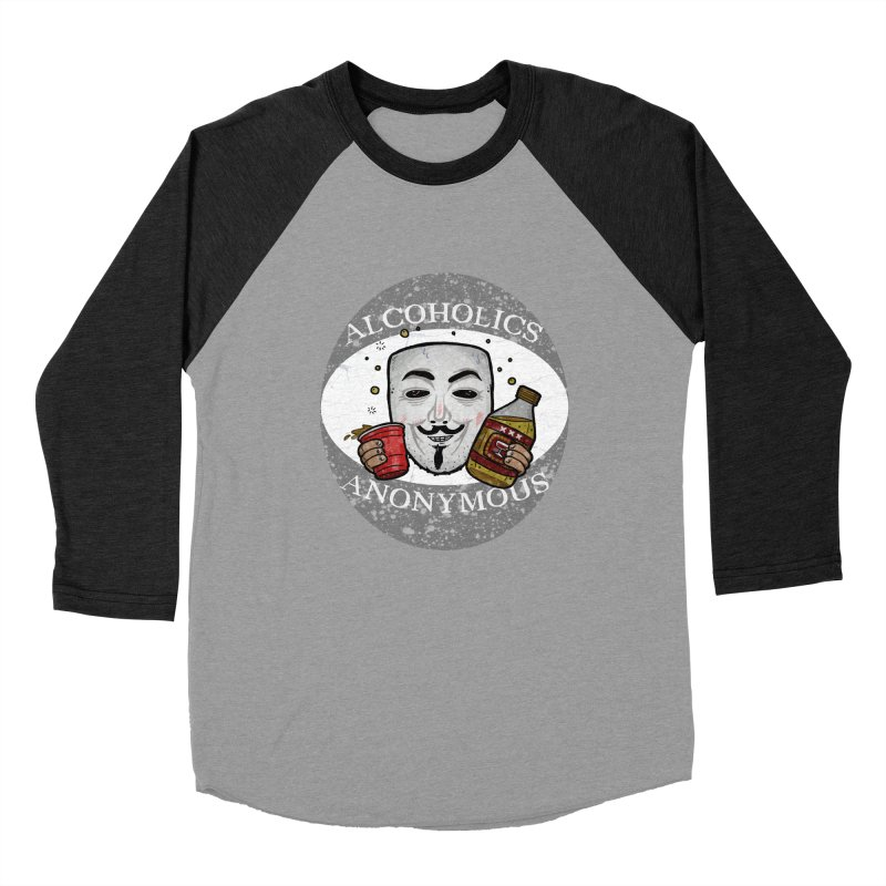 Alcoholics Anonymous Men's Baseball Triblend Longsleeve T-Shirt by vtavast's Artist Shop