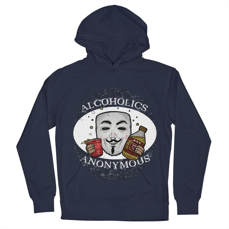 Alcoholics Anonymous Women's French Terry Pullover Hoody by vtavast's Artist Shop