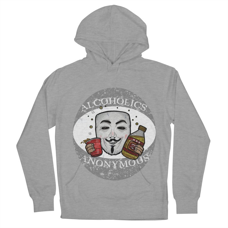 Alcoholics Anonymous Men's Pullover Hoody by vtavast's Artist Shop