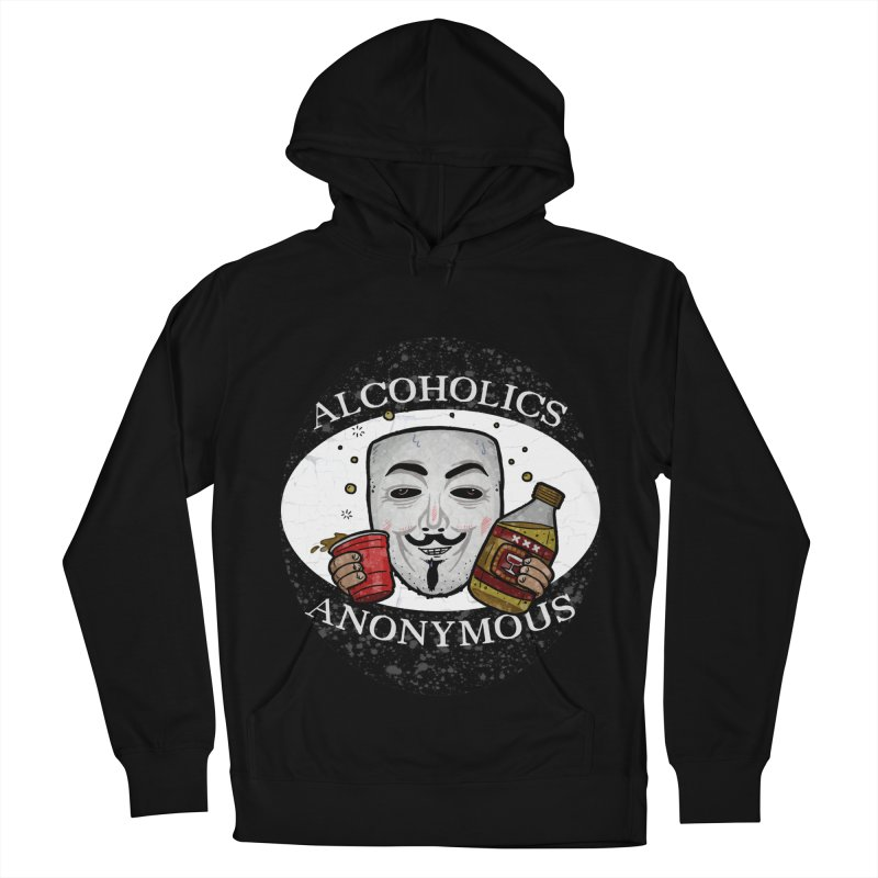 Alcoholics Anonymous Men's French Terry Pullover Hoody by vtavast's Artist Shop