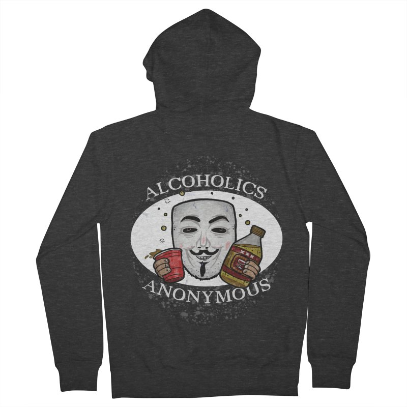 Alcoholics Anonymous Men's Zip-Up Hoody by vtavast's Artist Shop