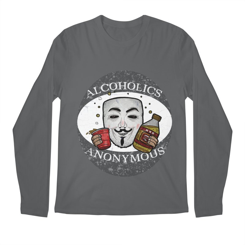 Alcoholics Anonymous Men's Longsleeve T-Shirt by vtavast's Artist Shop