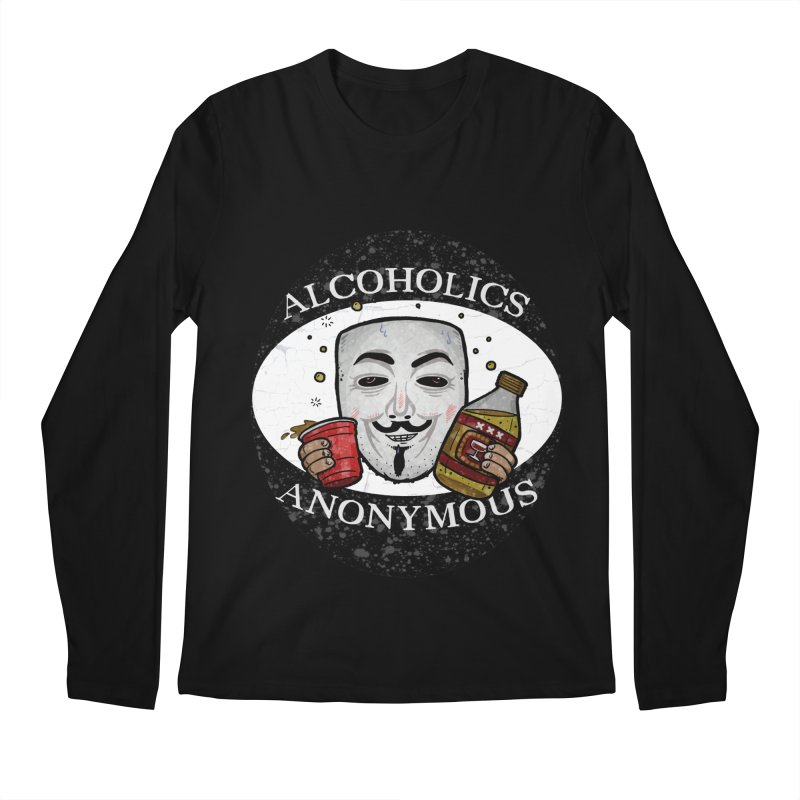 Alcoholics Anonymous Men's Regular Longsleeve T-Shirt by vtavast's Artist Shop