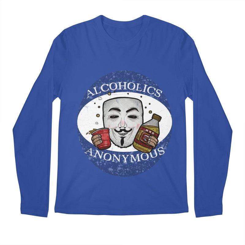 Alcoholics Anonymous Men's Regular Longsleeve T-Shirt by vtavast's Artist Shop