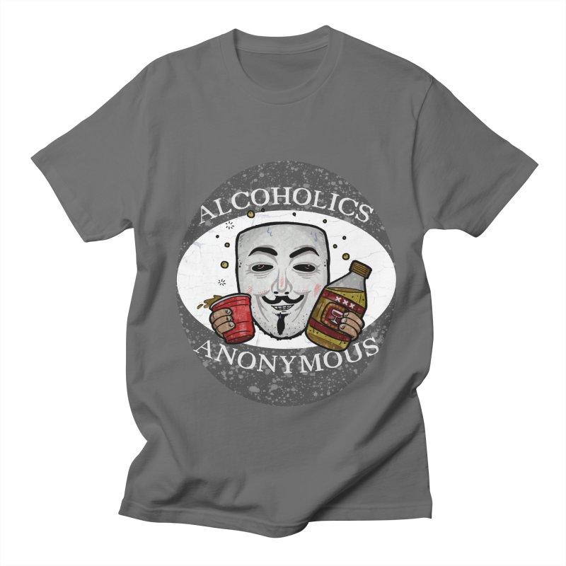 Alcoholics Anonymous Men's T-Shirt by vtavast's Artist Shop