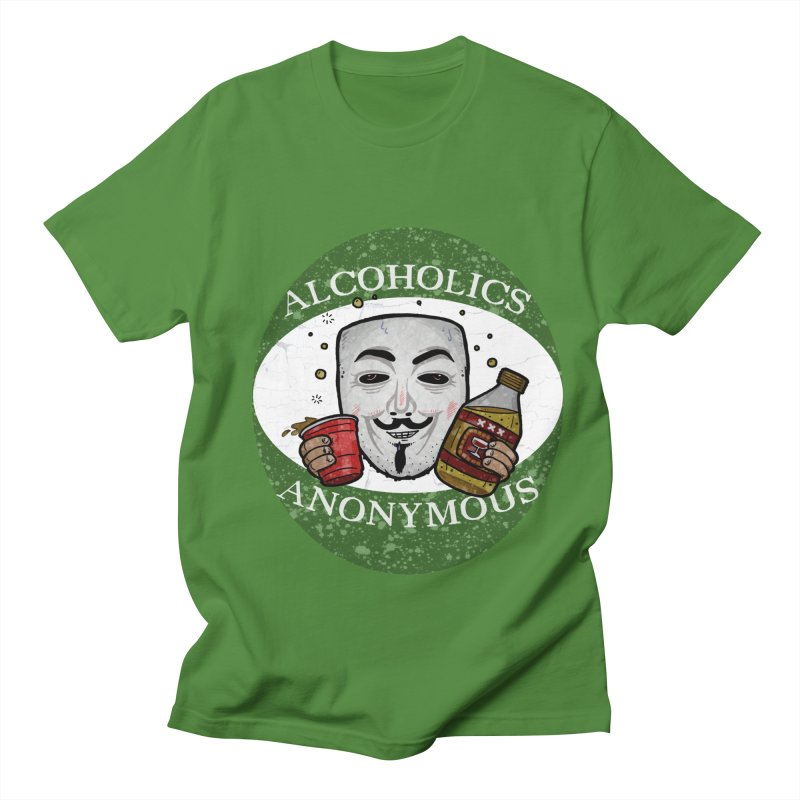 Alcoholics Anonymous Men's Regular T-Shirt by vtavast's Artist Shop