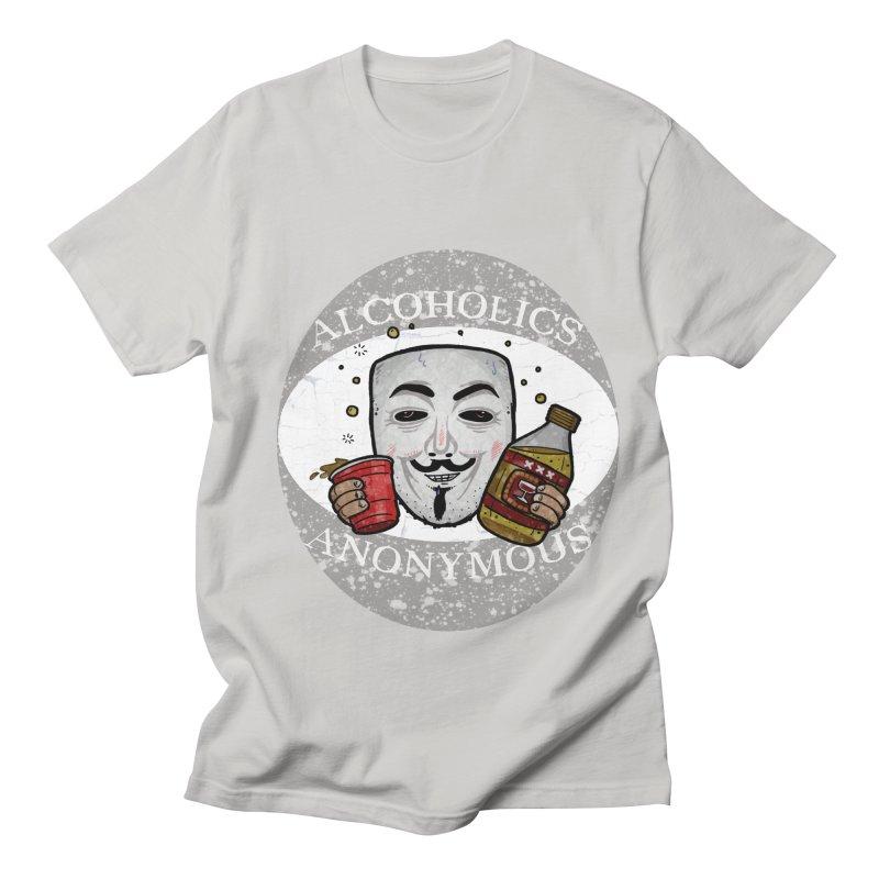 Alcoholics Anonymous Women's Regular Unisex T-Shirt by vtavast's Artist Shop