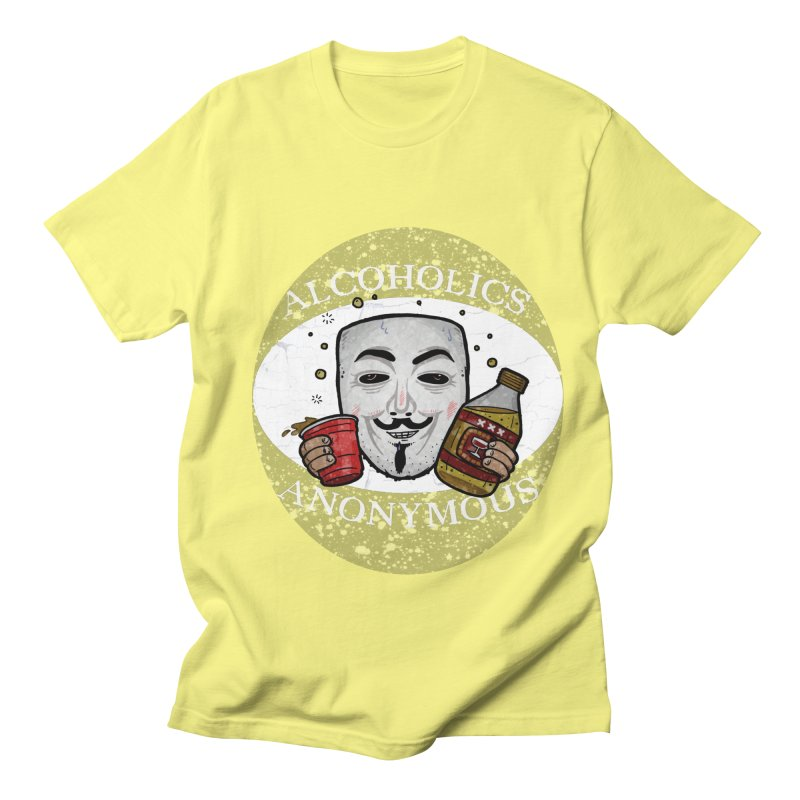 Alcoholics Anonymous Women's T-Shirt by vtavast's Artist Shop