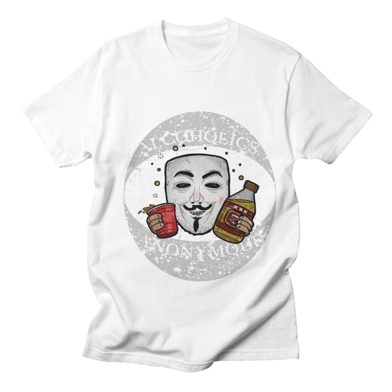 Alcoholics Anonymous Women's Regular Unisex T-Shirt by vtavast's Artist Shop