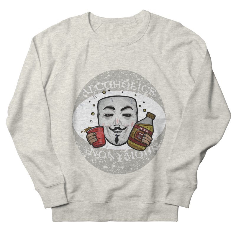 Alcoholics Anonymous Men's French Terry Sweatshirt by vtavast's Artist Shop