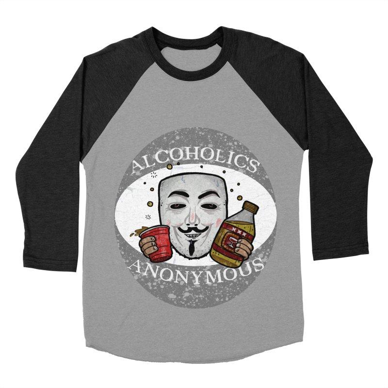 Alcoholics Anonymous Women's Baseball Triblend Longsleeve T-Shirt by vtavast's Artist Shop