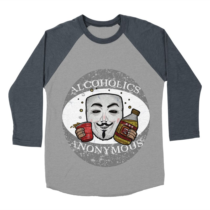 Alcoholics Anonymous Women's Baseball Triblend Longsleeve T-Shirt by vtavast's Artist Shop