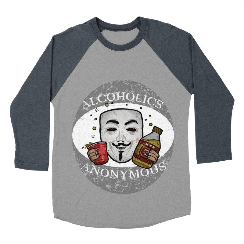 Alcoholics Anonymous Men's Baseball Triblend T-Shirt by vtavast's Artist Shop
