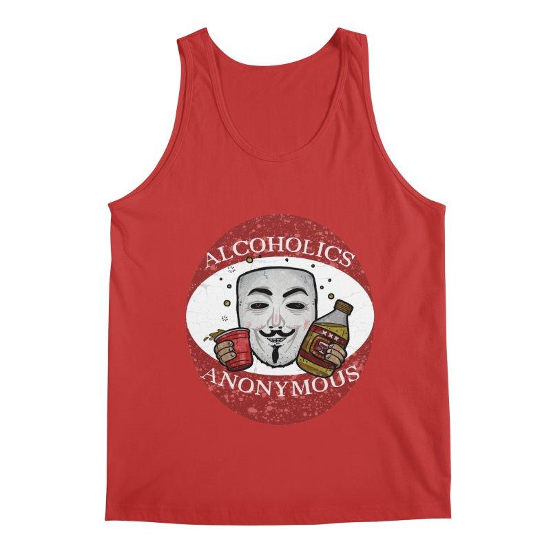 Alcoholics Anonymous Men's Regular Tank by vtavast's Artist Shop