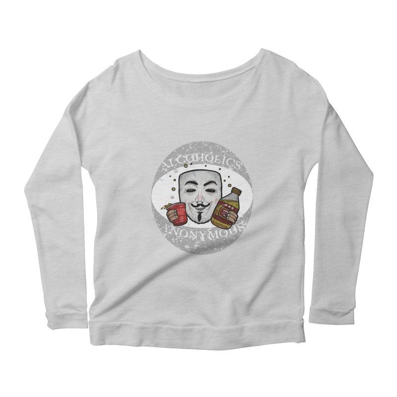 Alcoholics Anonymous Women's Scoop Neck Longsleeve T-Shirt by vtavast's Artist Shop