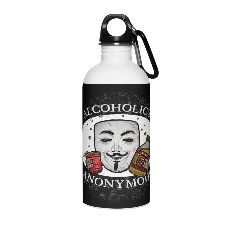 Alcoholics Anonymous Accessories Water Bottle by vtavast's Artist Shop
