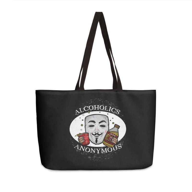 Alcoholics Anonymous Accessories Bag by vtavast's Artist Shop