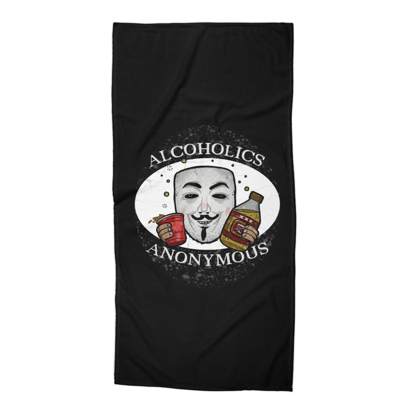 Alcoholics Anonymous Accessories Beach Towel by vtavast's Artist Shop